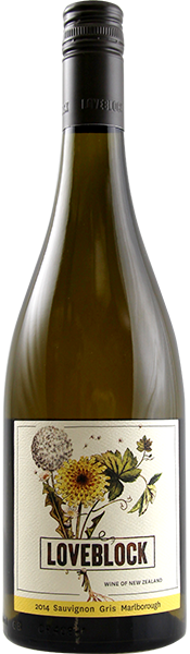 LOVEBLOCK Marlborough Sauvignon Gris