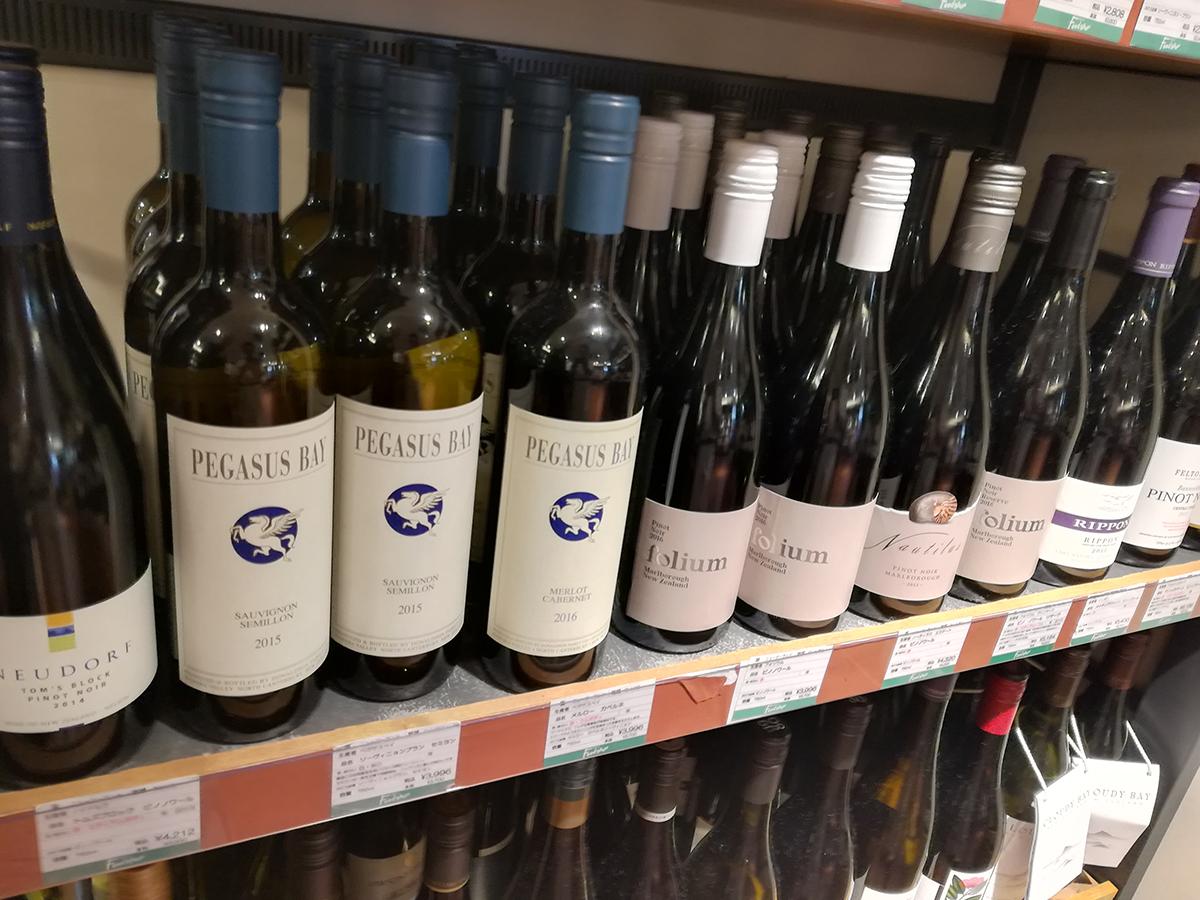 ニュージーランドワインの香りを求めて、東京より。